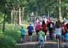 norgerlympics wandelen, beachkorfbal 072