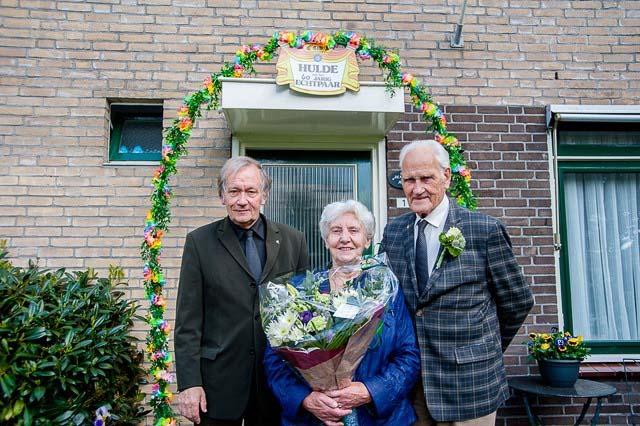 Roden 60 jarig huwelijk Holamn