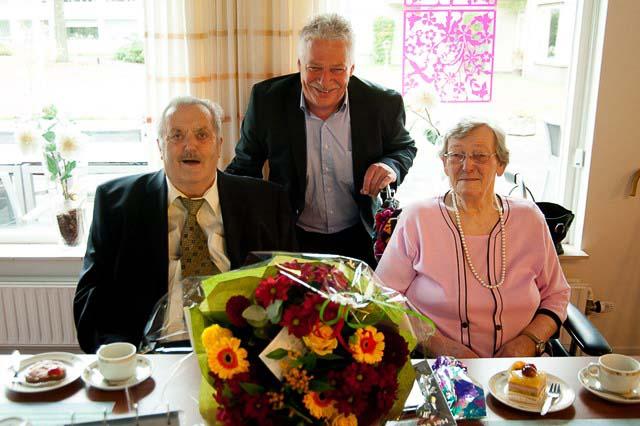 Roden 60 jarig huwelijk Willems