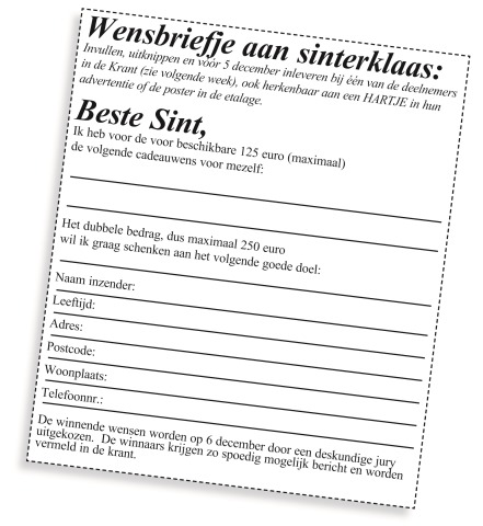 wensbriefje