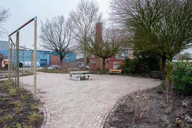 Noordwijk Willy Dobbe Plantsoen