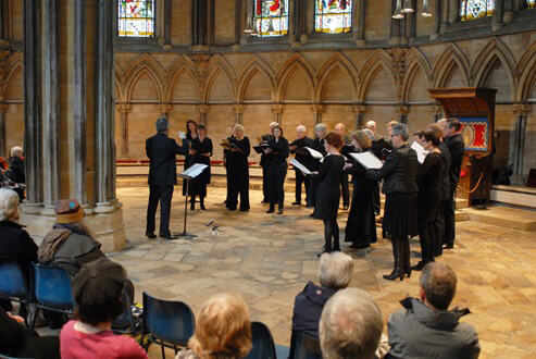 20150226 Northern-Voices-Chapter-House-Lincoln-Cathedral
