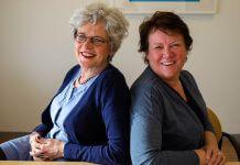 CJG Nini Bierling en Margreet Tinge