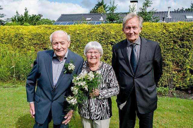 Norg 60 jarig huwelijk Tiesinga Woudstra
