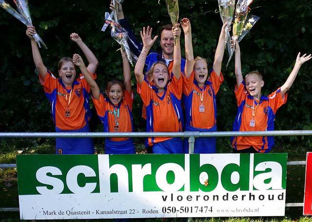 KV Noordenveld D3 kampioen veld najaar 2015