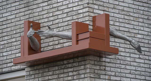 1.buiten sculptuur