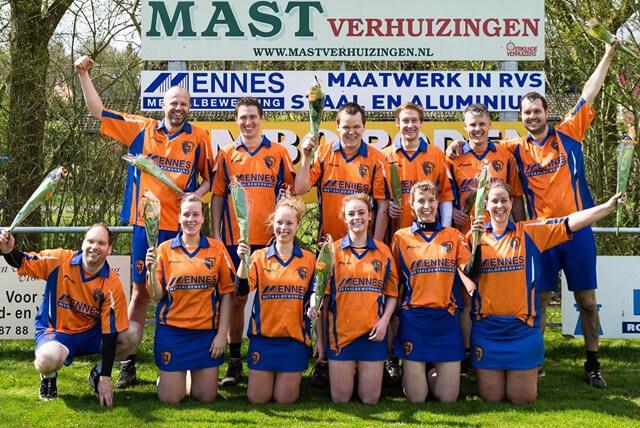 kv Noordenveld 3 kampioen veld seizoen 2015-2016