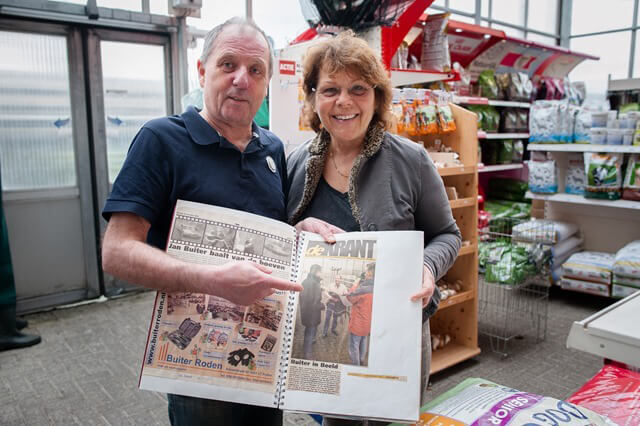 Roden Buiter 15 jaar de krant