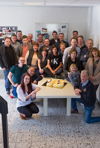 TeamFoto 15 jaar