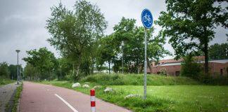 Roden Paaltje fietspad
