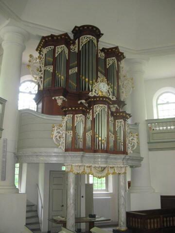orgel koepelkerk veenhuizen