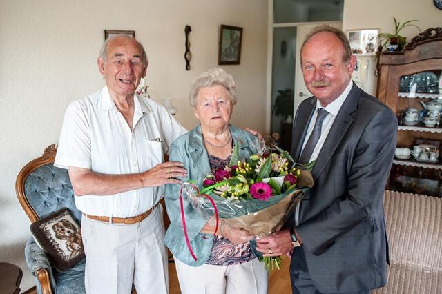 Roden 60 jarig huwelijk Rozema