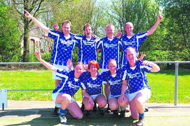 Rodenburg 3 kampioen veld 2015-2016