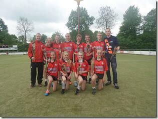 Sparta C1 kampioen voorjaar 2016