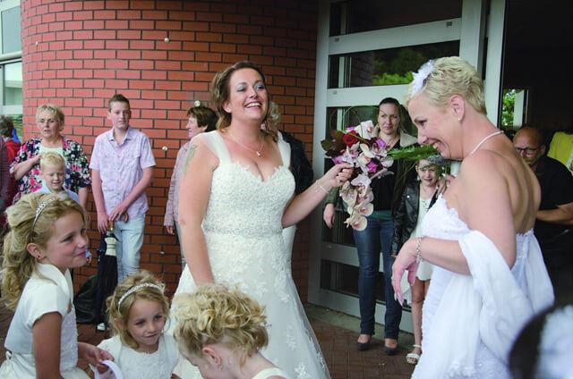 Zuidhorn dubbele bruiloft