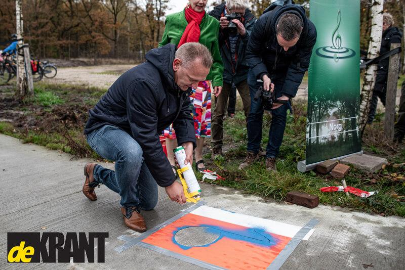 Het allereerste Zangfietspad van Noord-Nederland ligt in Norg! - De Krant