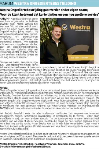 DKT-Westra ongediertenbestrijding Uitgelicht 18-02